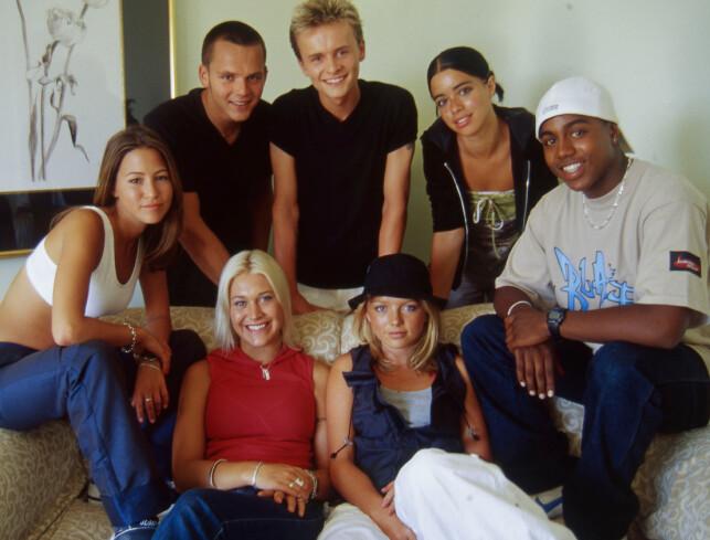 GIKK HVER TIL SITT: I 2003 ble S Club 7 oppløst. Her er de avbildet i 1999. Foto: NTB Scanpix