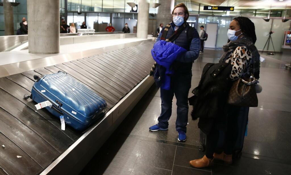 REISE MED FLY INNENLANDS: I denne artikkelen kan du lese alt du trenger å vite om smittevern, priser på flybillettene og liknende. Foto: NTB Scanpix