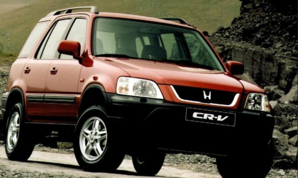 POPULÆRE BILER: Både Honda og Toyota kaller nå tilbake populære biler for å bytte kollisjonsputer. Eldre Honda CR-V-modeller er en av de berørte. Foto: Honda