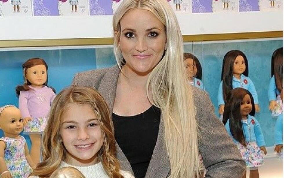 DRAMATISK: Jamie Lynn Spears var vitne til at datteren Maddie holdt på å drukne da hun ble utsatt for en ATV-ulykke. Nå forteller hun om den grusomme dagen. Foto: Skjermdump fra Instagram/jamielynnspears