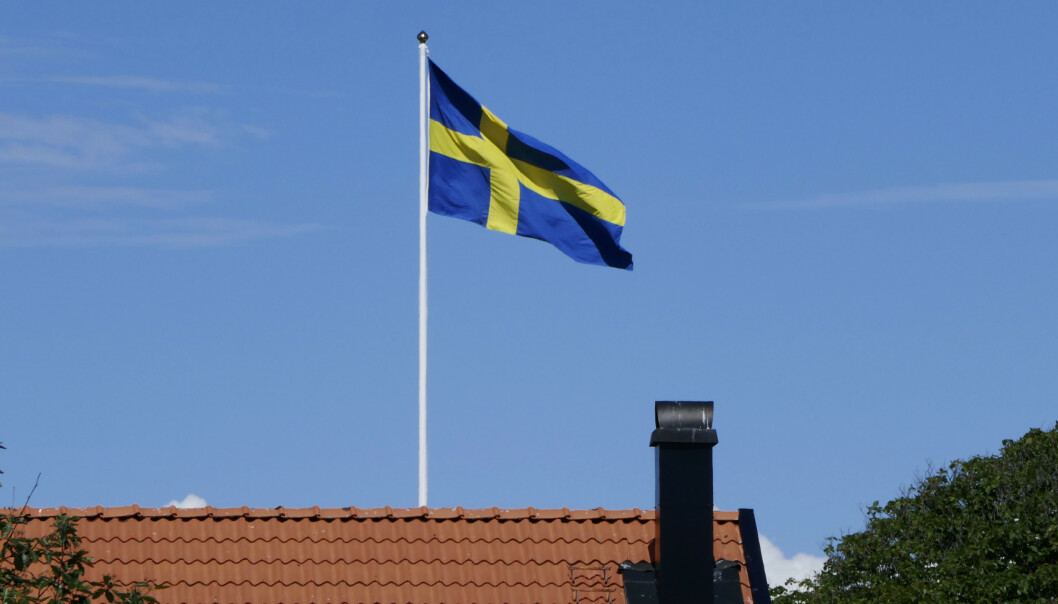 AVTAR: Totalt 477.810 personer regnes nå som arbeidsledige i Sverige. Foto: Erik Johansen / NTB scanpix