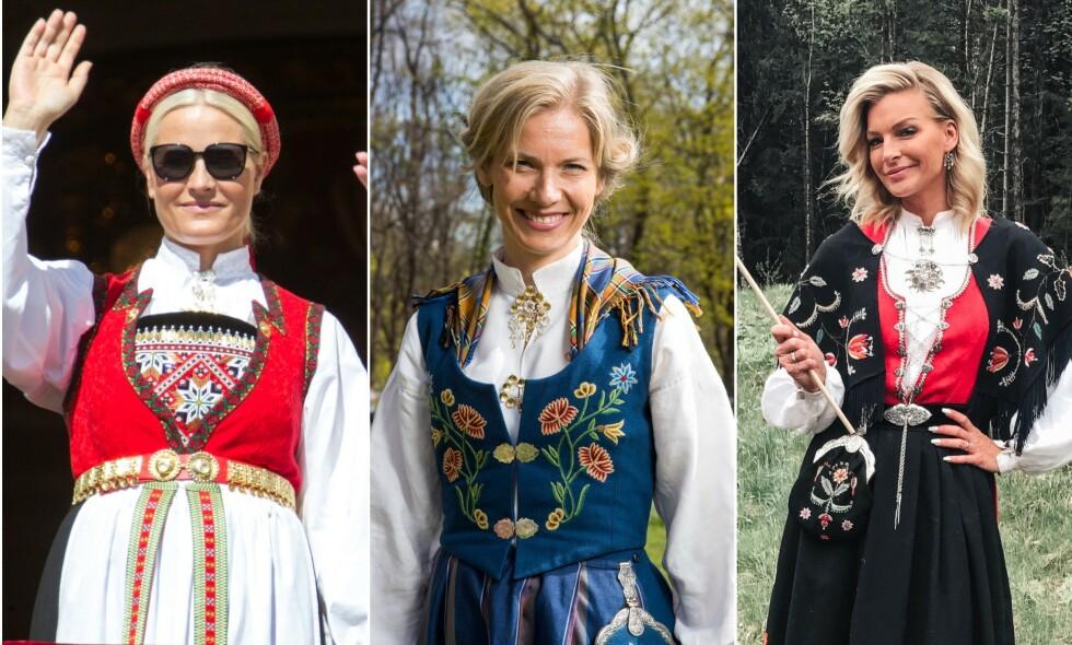 KAN VINNE: Hardangerbunaden, Nordlandsbunaden eller Rogalandsbunadene ligger an til å vinne Dagbladets bunadskåring. Stem på din favoritt i denne saken! Foto: Andreas Fadum / NTB Scanpix / Privat