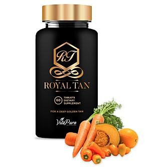 ØKOLOGISK: Royal Tan består av 100 % naturlige, økologiske ingredienser - og virkemidler som både gjør deg brun og styrker hudens forsvar.