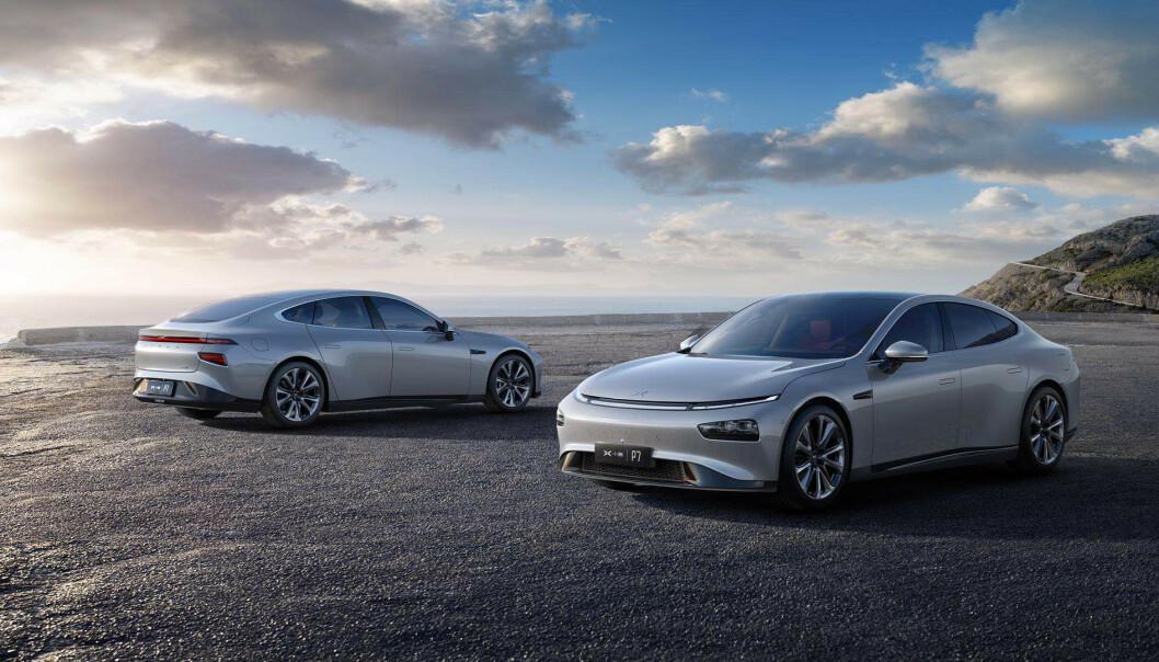 Xpeng P7: Presser Tesla Model 3 ned i pris. Foto: Xpeng
