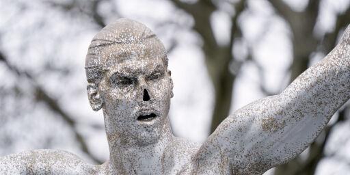 image: Zlatan-statuen flyttes etter bråket