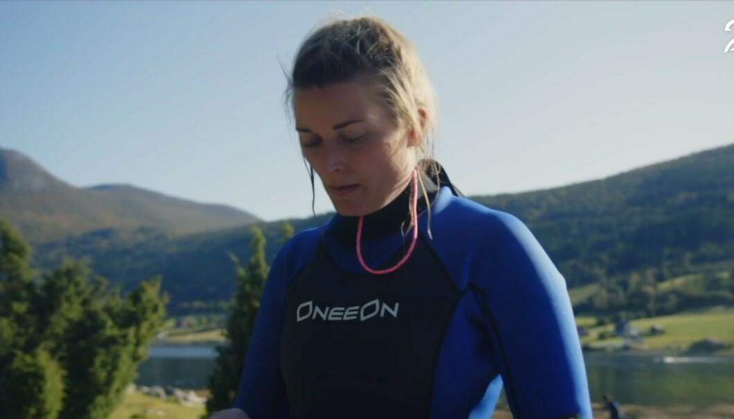 <strong>IMPONERENDE:</strong> Lise Karlsnes fikk en andreplass i programmet. Hun mener nøkkelglippen ikke hadde noe å si for utfallet. Foto: TV 2