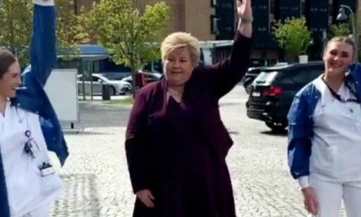 image: Her danser statsministeren