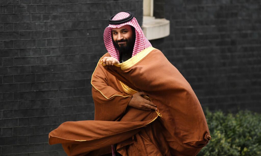 KONTROVERSIELL: Saudi Arabias kronprins Mohammad bin Salman er populær hos mange for sine reformer, men det saudiske regimet er beryktet for uhyrlige menneskerettighetsbrudd. Foto: NTB Scanpix