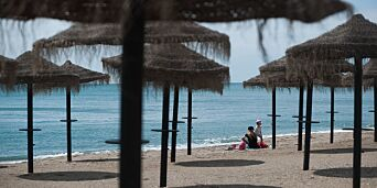 image: Øde sommer ved Middelhavet