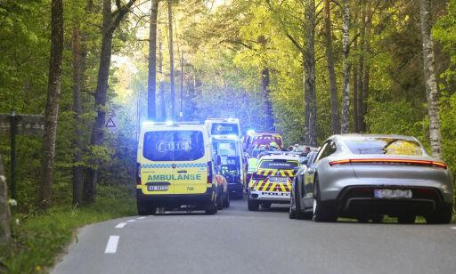 image: Politiet reagerer på skuelystne etter alvorlig ulykke