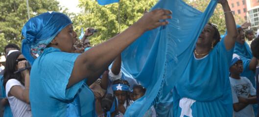 Imponerende mobilisering blant norsk-somalierne