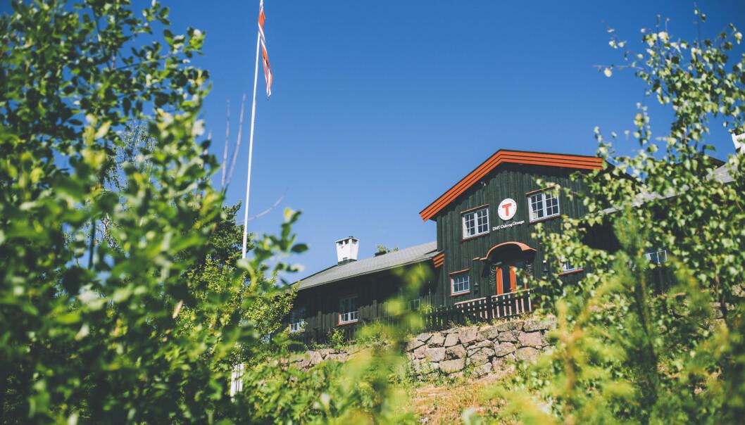<strong>NÆRT TIL NATUREN:</strong> Kobberhaughytta ligger i nordmarka, og har panoramautsikt over Sørkedalen. FOTO: DNT/Marius Dalseg Sætre