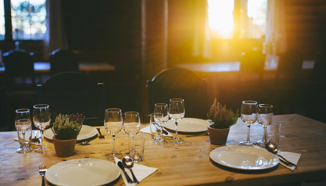 <strong>GOD MAT:</strong> På Kobberhaughytta kan du både sove godt og spise god, lover DNT. FOTO: DNT/Marius Dalseg Sætre