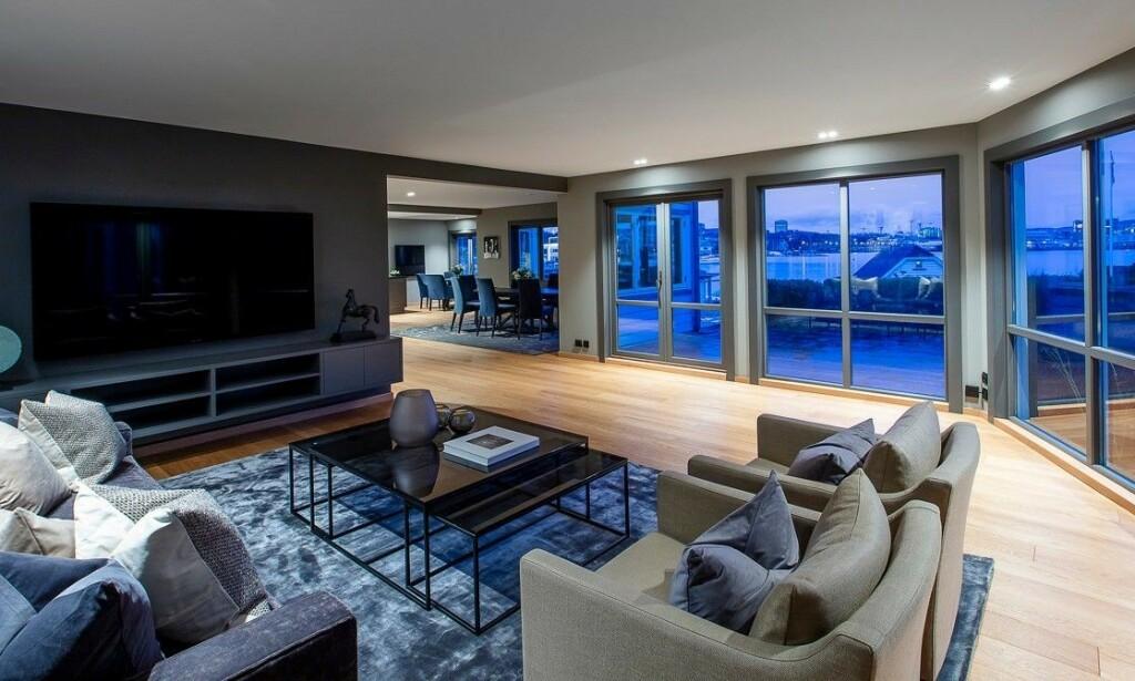 - PÅKOSTET: Selger opplyser selv at han har brukt flere titalls millioner i oppgraderinger av eiendommen. Foto: StudioOslo