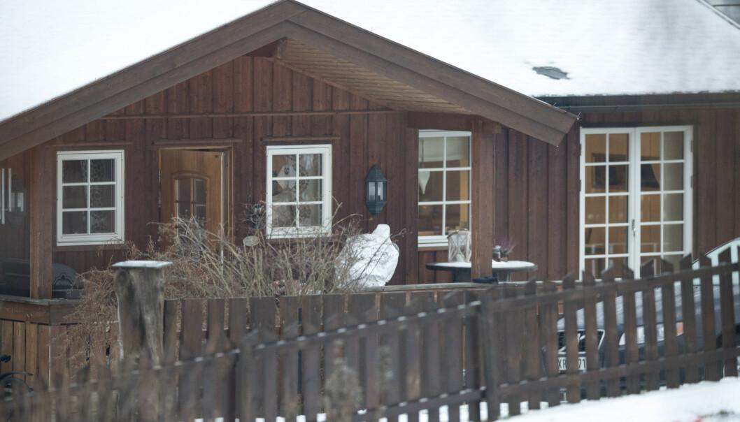 Laura Iris Haugen (16) ble drept med en rekke knivstikk rett i nærheten av huset hun bodde i på Vinstra i Nord-Fron i Innlandet. Nå er den unge drapsmannen dømt til 13 års forvaring med en minstetid på åtte år. Foto: Terje Pedersen / NTB scanpix
