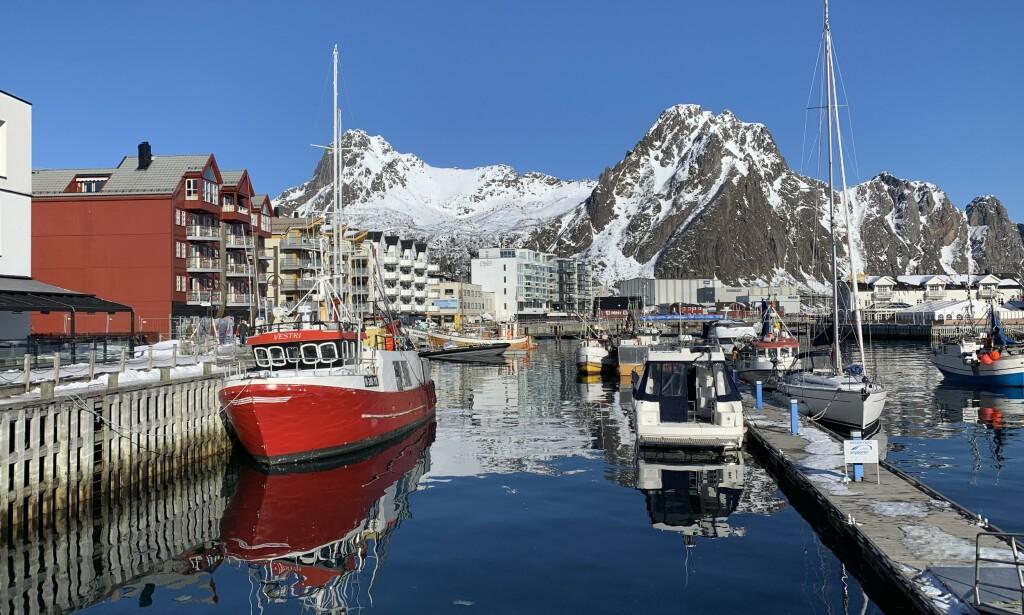 Hele året: Svolvær og Lofoten er blitt helårsdestinasjon. Vil det fortsette slik? Foto: Odd Roar Lange/The Travel Inspector