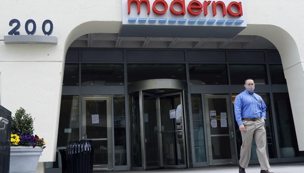Bioteknologiselskapet Moderne ligger i Cambridge i delstaten Massachusetts. Foto: Bill Sikes / AP / NTB scanpix