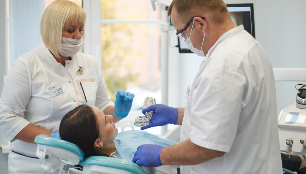 <strong>SLUTT PÅ Å SAMMENLIKE PRISENE:</strong> Med tjenesten hvakostertannlegen.no har du enkelt kunne sjekke og sammenlikne prisene på tannbehandlinger. Nå legges tjenesten ned. Grunnen? - Coronaviruset. Foto: Shutterstock/NTB scanpix