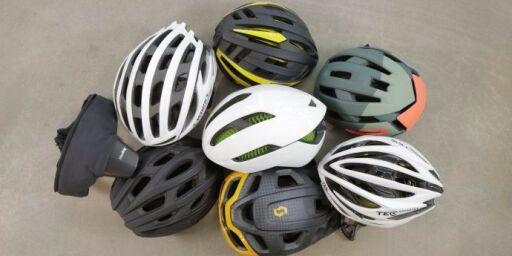 image: Test avslører beste sykkelhjelm