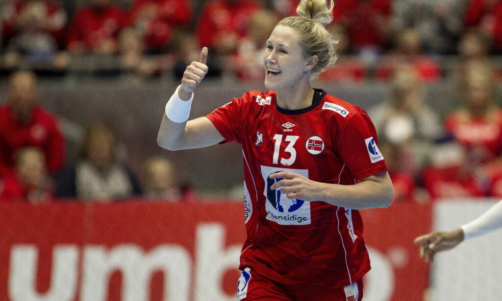 COMEBACK: Marit Malm Frafjord gjør comeback på håndballandslaget.  Foto: Carina Johansen / NTB Scanpix