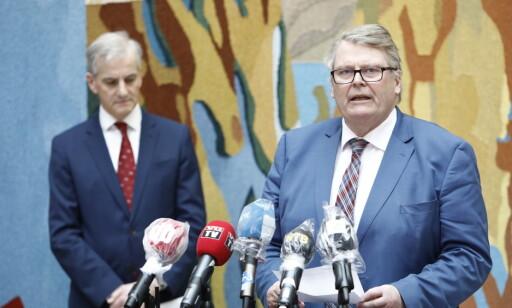 SAMARBEID: Parlamentarisk leder i KrF Hans Fredrik Grøvan jobber for å få gjennomslag for KrFs ønske om å hente sårbare flyktninger og familier til Norge. Foto: Tore Meek / NTB Scanpix