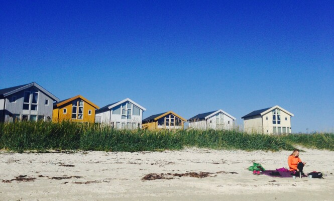<strong>KRITTVITE STRENDER:</strong> Sommarøy er toppen av idyll, med sine kritthvite strender og turkist vann. FOTO: Privat