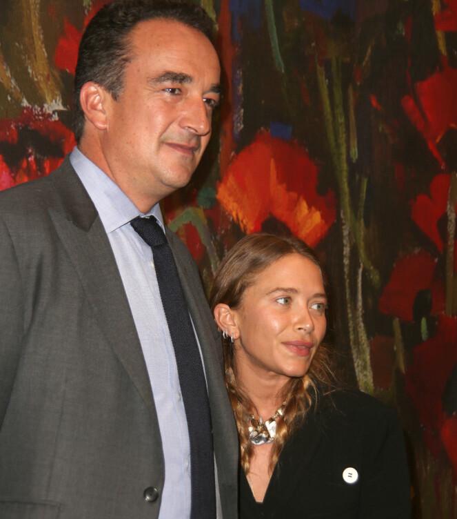 LYKKELIGERE DAGER: Mary-Kate Olsen og Olivier Sarkozy giftet seg i 2017, men går nå hver til sitt, etter sju års ekteskap. FOTO: NTB Scanpix