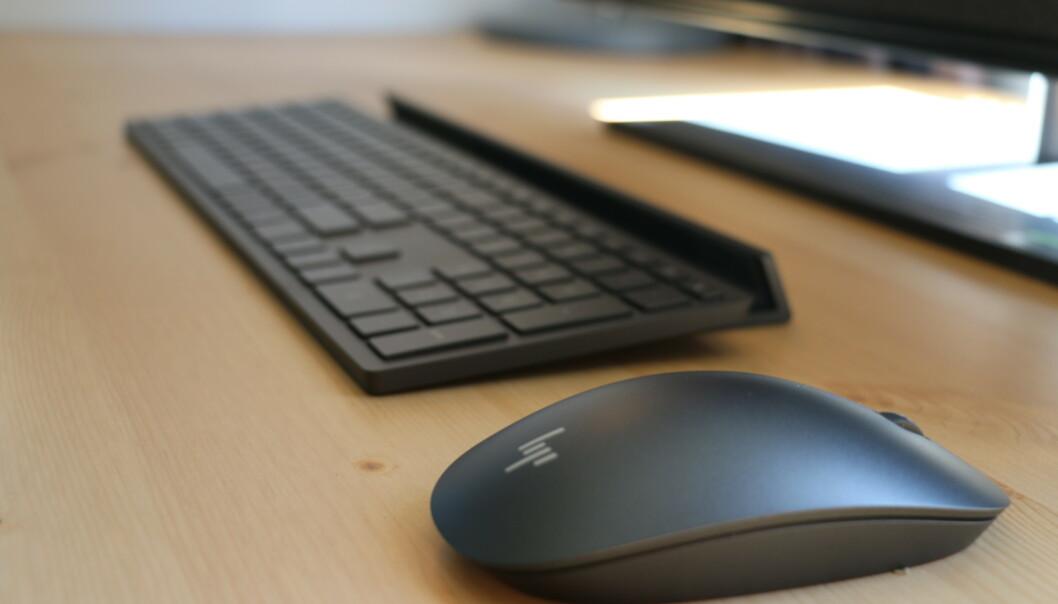 Tastaturet er velbygd og godt å skrive på, men datamusa er vi ikke så begeistret over. Foto: Martin Kynningsrud Størbu