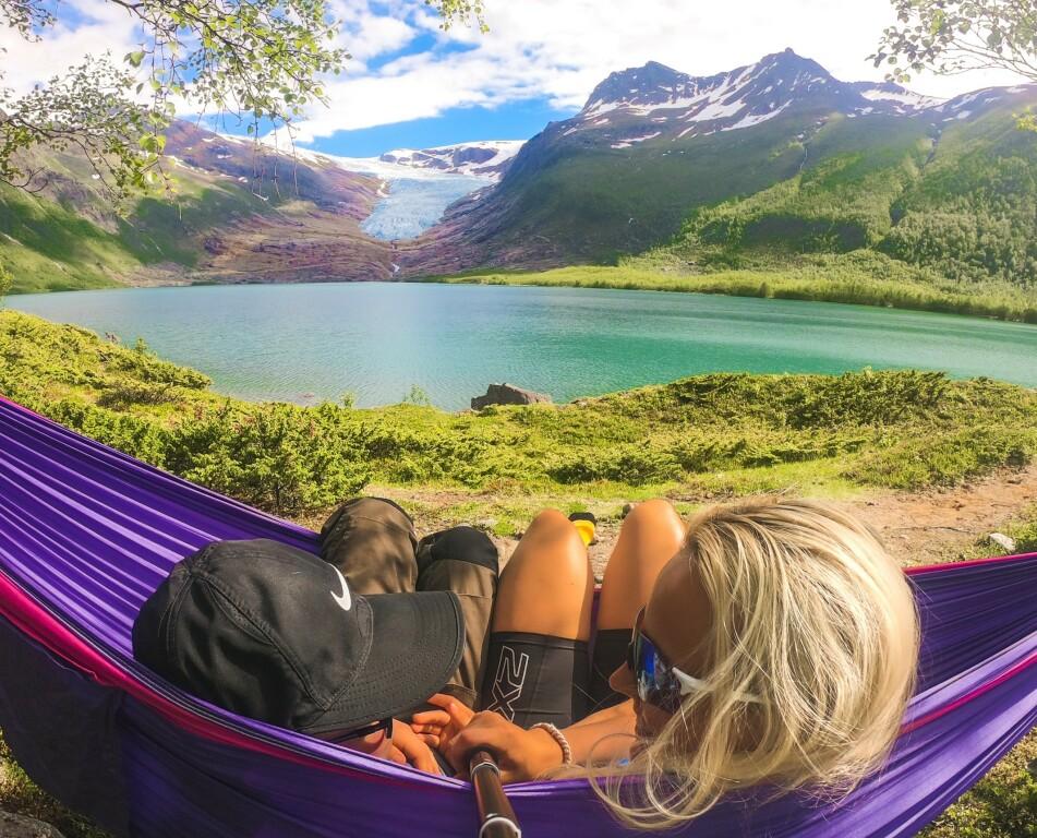 RO I SJELA: Ønsker du å nyte en liten ferie utendørs, uten bråk og mas? Da kan kanskje disse tipsene hjelpe deg et stykke på veien! FOTO: Privat