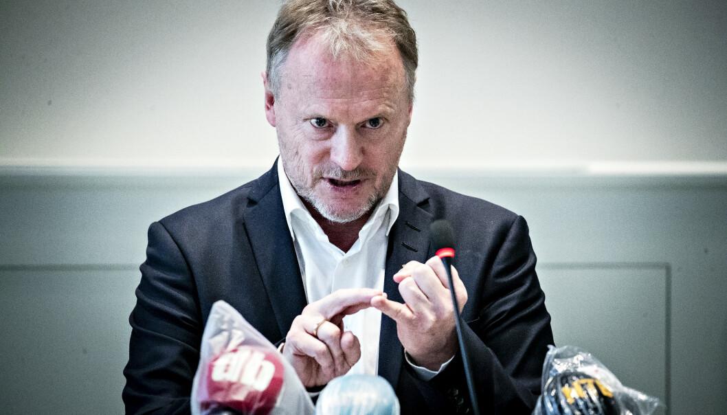 <strong>UTSETTER:</strong> Byrådsleder Raymond Johansen (Ap) varlser at en rekke valgkampløfter må utsettes. Her fra en pressekonferanse i mars. Foto: Bjørn Langsem / Dagbladet
