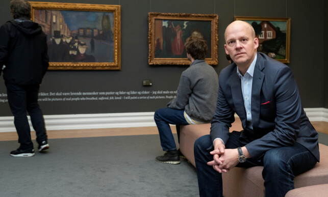 FORTVILER: Kode-direktør Petter Snare. Foto: Dag Fosse / Kode