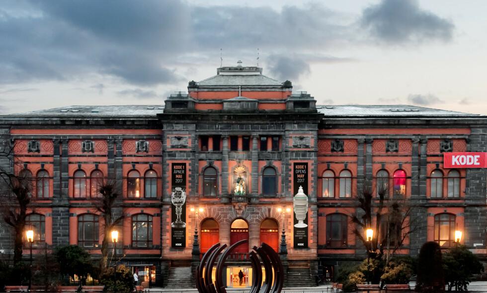KONKURSTRUET: Kode omfatter blant annet fire museumsbygg i Bergen. Her er Kode 1. Foruten kunst forvalter Kode også arven etter komponistene Edvard Grieg, Ole Bull og Harald Sæverud. Foto: Dag Fosse / Kode