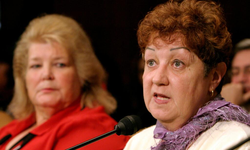 FIKK BETALT: Norma McCorvey var først kjent som abortforkjemper. Så ble hun kjent abortmotstander. Nå innrømmer hun at ultrakonservative kristne betalte henne. Foto: REUTERS/Shaun Heasley/File Photo