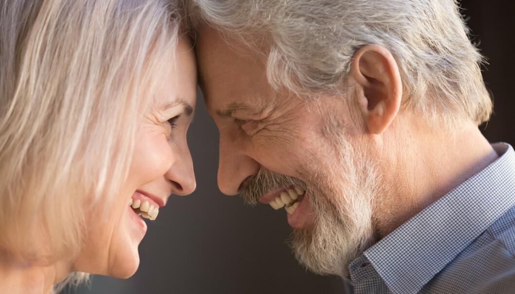 Parterapeuten har seks tips til å oppnå en ny intimitet, de kan du lese nederst i artikkelen. Et av tipsene er å se hverandre dypt inn i øynene. Foto: Shutterstock/NTB Scanpix