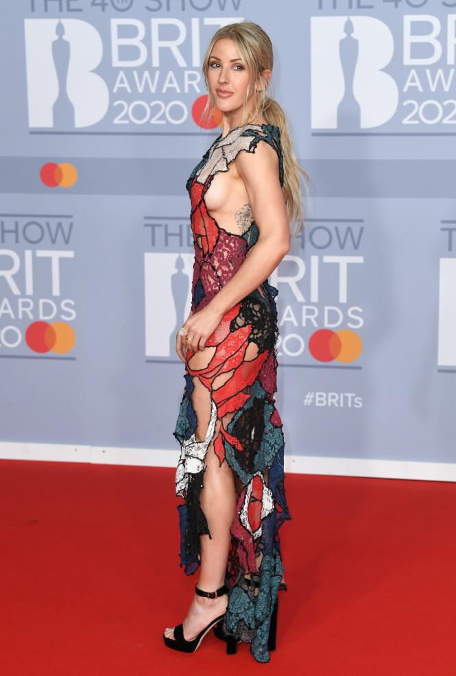 <strong>FÅR GJENNOMGÅ:</strong> Ellie Goulding får hard medfart etter et intervju der hun blant annet fortalte at hun faster opp mot 40 timer av gangen. Foto: NTB Scanpix