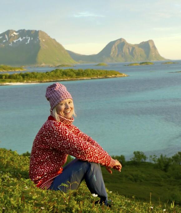 Kathrine Gunderen er eventkoordinator ved Hamn i Senja. Foto: Runar Larsen