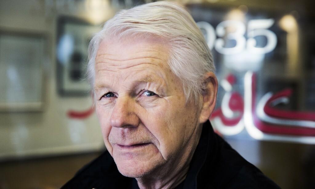 TO MILLIONER: - Den tidligere politimannen ymtet frampå at han skulle ha to millioner kroner, bekrefter Øyvind Olsen. Foto: Henning Lillegård / Dagbladet .