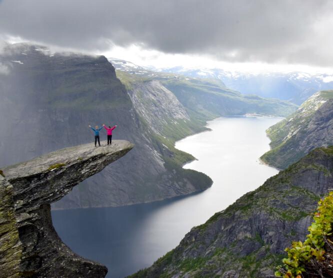 Nesten for fint til å være sant. Av og til ligner Norge nesten litt for mye på et postkort. Foto: Torild Moland/Magasinet Reiselyst