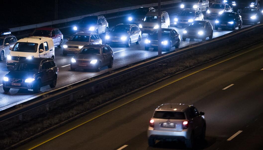 EU ønsker å redusere antall fossilbiler på europeiske veier. Foto: Jon Olav Nesvold / NTB scanpix