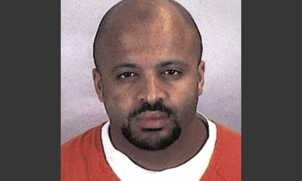 DØMT: Zacarias Moussaoui soner en livsstidsdom for sin rolle under terrorangrepet 11. september 2001. Foto: Sherburne County, Minn., Sheriff's Office via AP