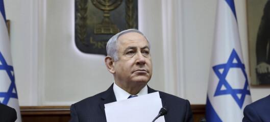 Netanyahu klar for pinebenken