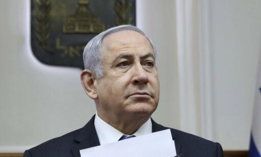 image: Netanyahu klar for pinebenken