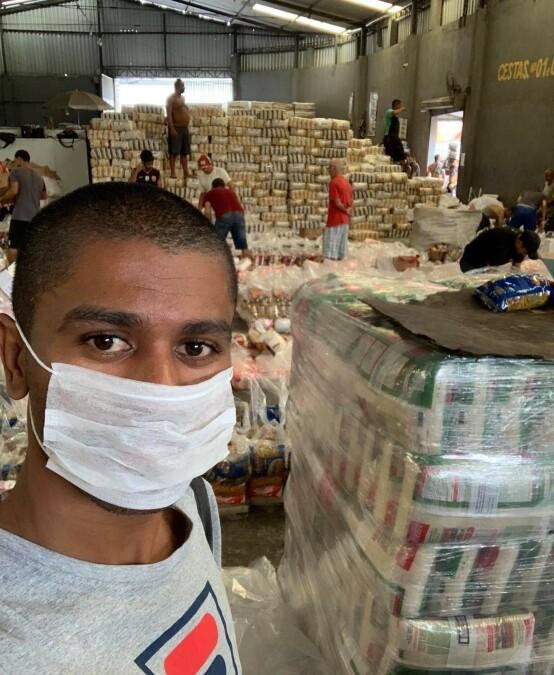 <strong>HARDT RAMMET:</strong> Brasil er blant de hardest rammede landene i verden av coronaviruset. Her pågår pandemien for fullt i disse dager. Foto: Privat