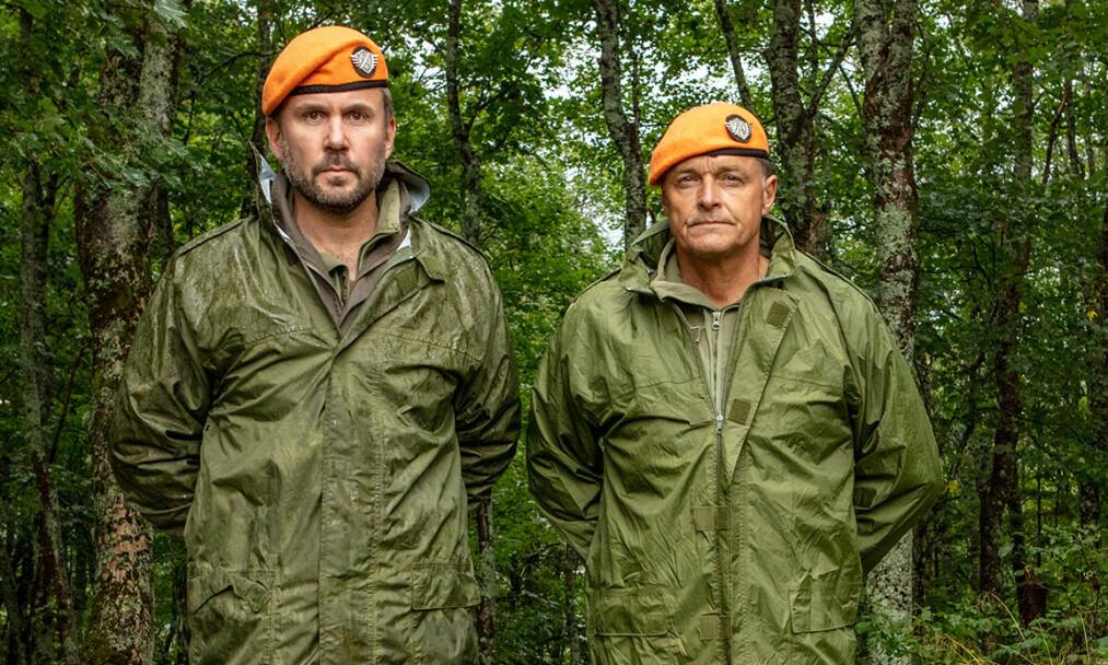 <strong>SUKSESS:</strong> Dag Otto Lauritzen (t.h.) og Kristian Ødegård (t.v.) har nok en gang gjort suksess på tv. Denne gang gjennom «Kompani Lauritzen». Foto: Matti Bernitz Pedersen / TV 2