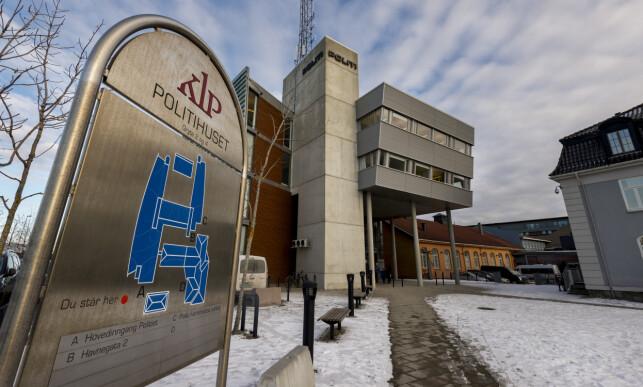POLITIHUSET: Avgjørelsen om å straffeforfølge Wigtil ble fattet på politihuset i Trondheim. Foto: Ned Alley / NTB Scanpix