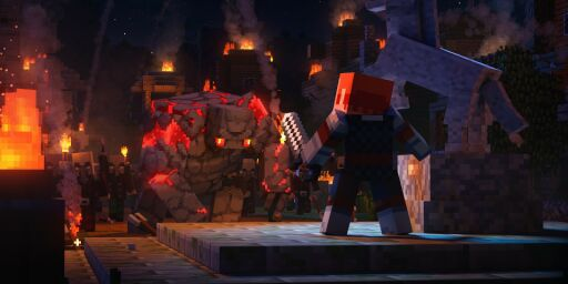 image: Nytt Minecraft med fire spillere i samarbeid