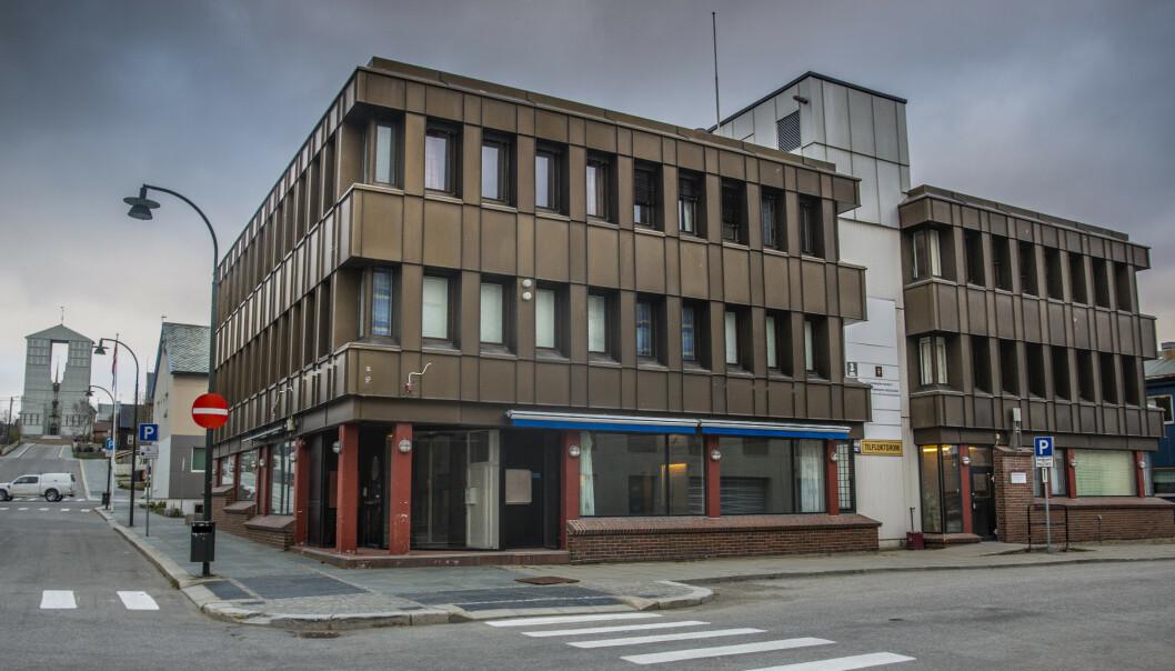 Øst-Finnmark tingrett i Vadsø. Foto: Jan-Morten Bjørnbakk / NTB scanpix