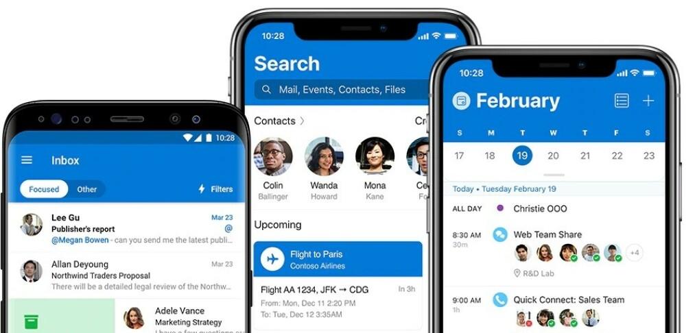 Microsoft kutter 27 språk i Outlook-appen