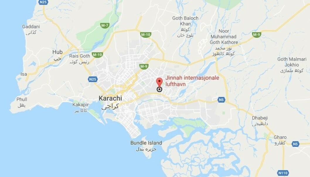107 omkom da fly styrtet i boligområde