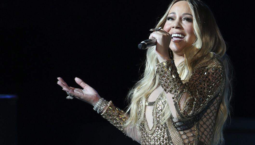 Mariah Carey opptrer i Dubai i oktober. I mars fylte hun 50, i juni får hun sin fortjente plass i prestisjefylte Songwriters Hall of Fame i New York. Foto: AP Photo/Kamran Jebreili/NTB Scanpix